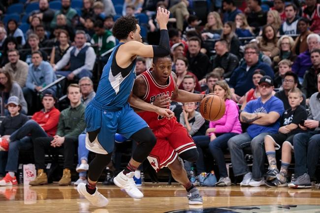 Chicago Bulls vs. Minnesota Timberwolves - 2/9/18 NBA Pick, Odds, and Prediction