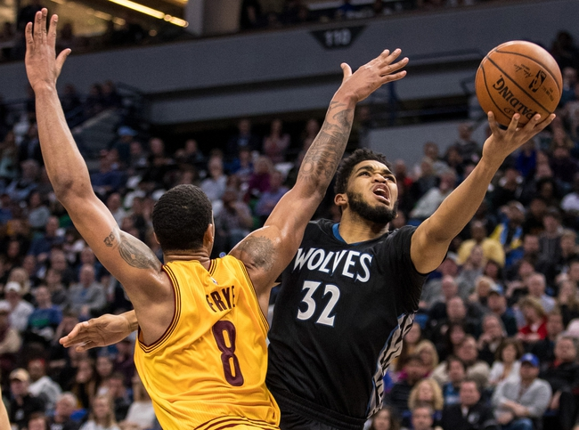 Minnesota Timberwolves vs. Cleveland Cavaliers - 1/8/18 NBA Pick, Odds, and Prediction