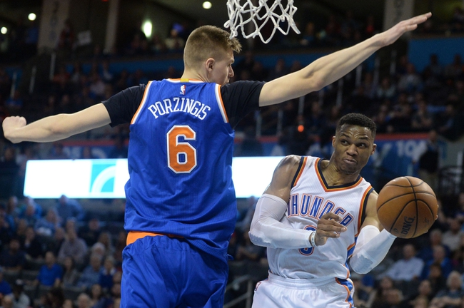 Oklahoma City Thunder vs. New York Knicks - 10/19/17 NBA Pick, Odds, and Prediction