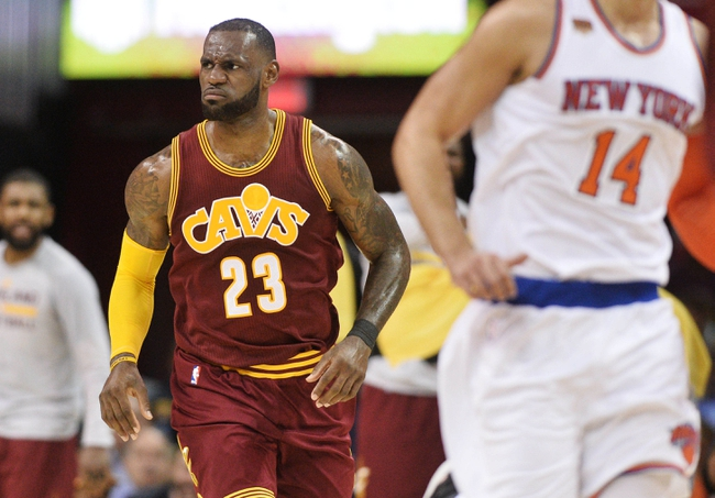 Cleveland Cavaliers vs. New York Knicks - 10/29/17 NBA Pick, Odds, and Prediction