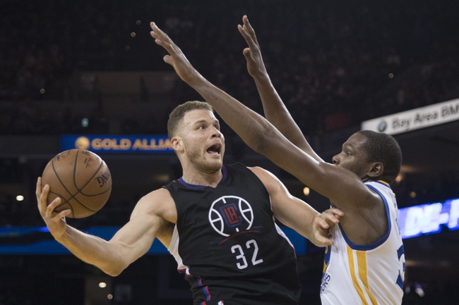 Los Angeles Clippers vs. Golden State Warriors - 10/30/17 NBA Pick, Odds, and Prediction