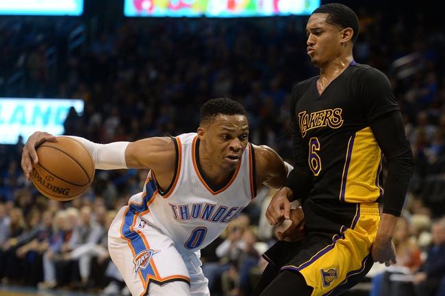 Los Angeles Lakers vs. Oklahoma City Thunder - 1/3/18 NBA Pick, Odds, and Prediction