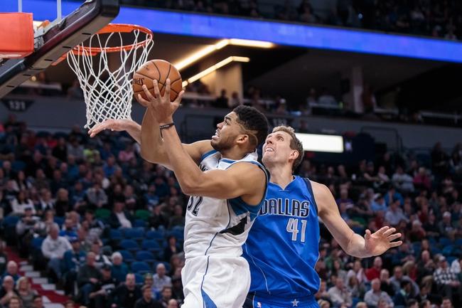 Minnesota Timberwolves vs. Dallas Mavericks - 11/4/17 NBA Pick, Odds, and Prediction