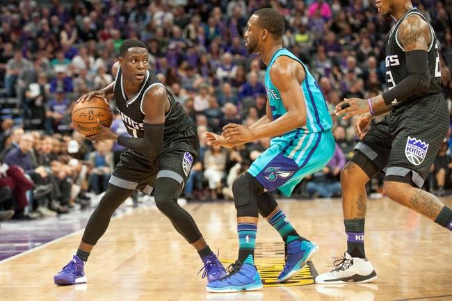 Sacramento Kings vs. Charlotte Hornets - 1/2/18 NBA Pick, Odds, and Prediction