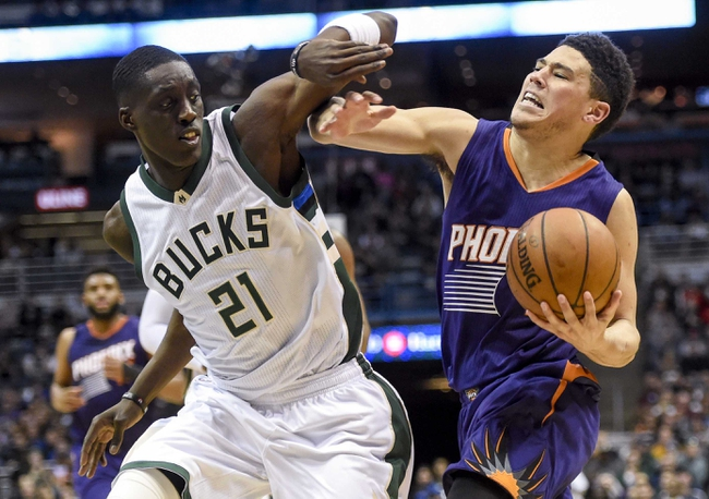 Phoenix Suns vs. Milwaukee Bucks - 11/22/17 NBA Pick, Odds, and Prediction
