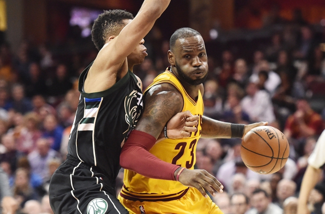Milwaukee Bucks vs. Cleveland Cavaliers - 10/20/17 NBA Pick, Odds, and Prediction