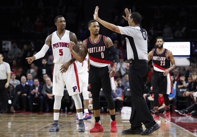 Detroit Pistons vs. Portland Trail Blazers - 2/5/18 NBA Pick, Odds, and Prediction