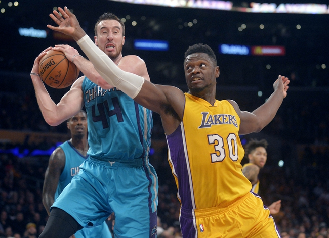 Charlotte Hornets vs. Los Angeles Lakers - 12/9/17 NBA Pick, Odds, and Prediction
