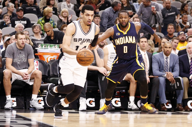 Indiana Pacers vs. San Antonio Spurs - 10/29/17 NBA Pick, Odds, and Prediction