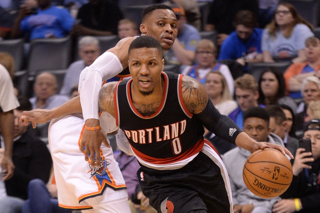 Portland Trail Blazers vs. Oklahoma City Thunder - 11/5/17 NBA Pick, Odds, and Prediction