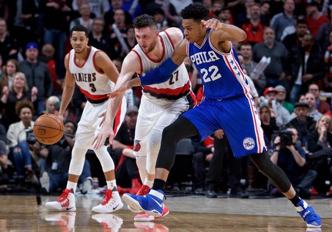 Philadelphia 76ers vs. Portland Trail Blazers - 11/22/17 NBA Pick, Odds, and Prediction