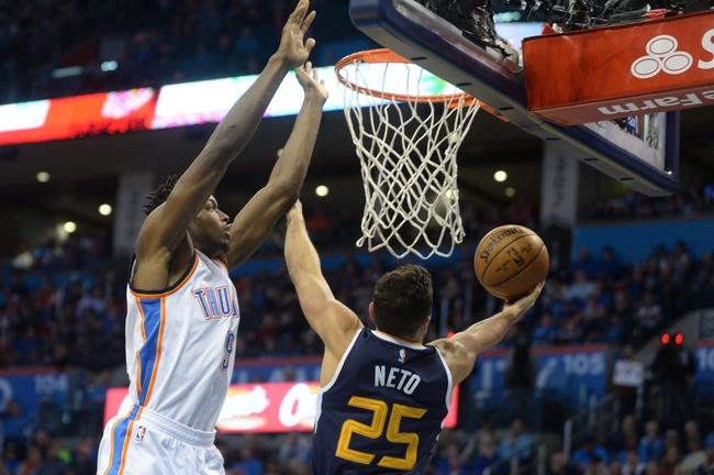 Utah Jazz vs. Oklahoma City Thunder - 10/21/17 NBA Pick, Odds, and Prediction