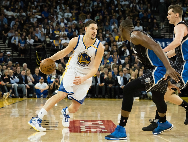 Golden State Warriors vs. Orlando Magic - 11/13/17 NBA Pick, Odds, and Prediction