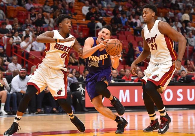Phoenix Suns vs. Miami Heat - 11/8/17 NBA Pick, Odds, and Prediction