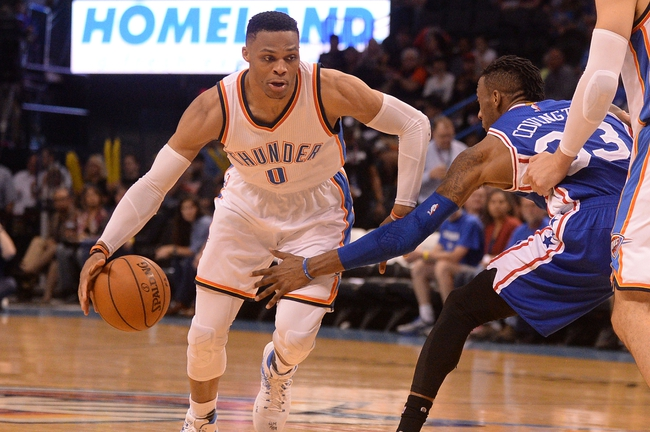 Philadelphia 76ers vs. Oklahoma City Thunder - 12/15/17 NBA Pick, Odds, and Prediction