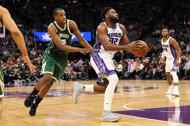 Sacramento Kings vs. Milwaukee Bucks - 11/28/17 NBA Pick, Odds, and Prediction