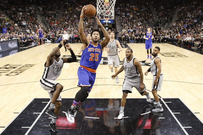 San Antonio Spurs vs. New York Knicks - 12/28/17 NBA Pick, Odds, and Prediction