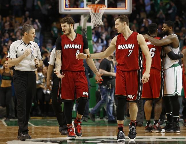 Miami Heat vs. Boston Celtics - 10/28/17 NBA Pick, Odds, and Prediction