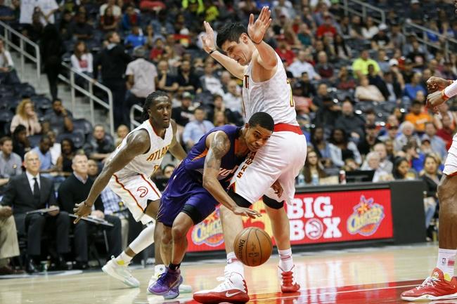 Phoenix Suns vs. Atlanta Hawks - 1/2/18 NBA Pick, Odds, and Prediction