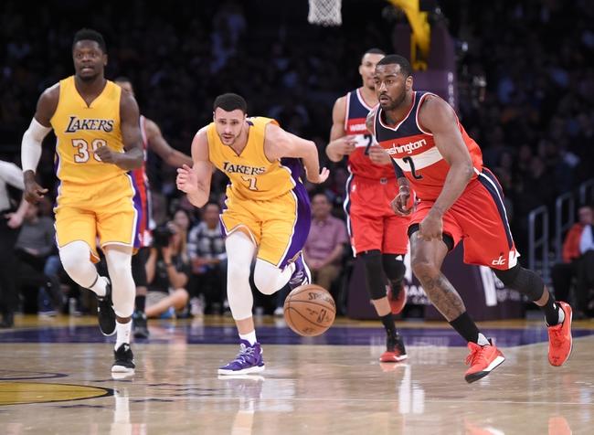 Los Angeles Lakers vs. Washington Wizards - 10/25/17 NBA ...