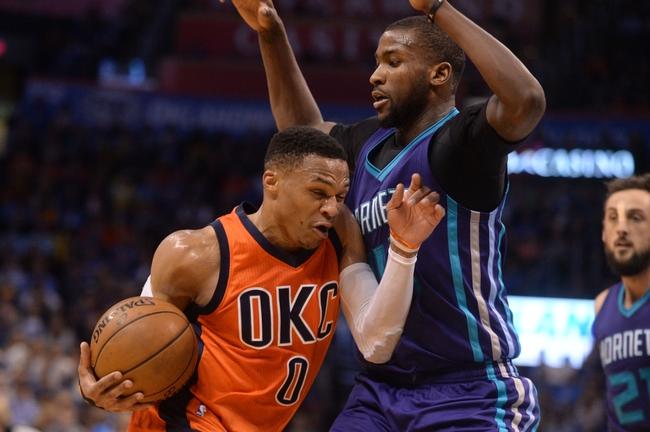 Oklahoma City Thunder vs. Charlotte Hornets - 12/11/17 NBA Pick, Odds, and Prediction