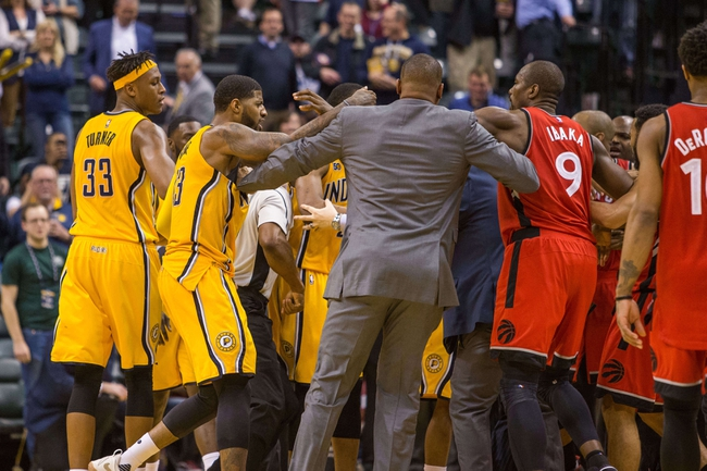 Indiana Pacers vs. Toronto Raptors - 11/24/17 NBA Pick, Odds, and Prediction