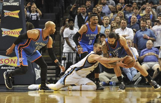 Memphis Grizzlies vs. Oklahoma City Thunder - 12/9/17 NBA Pick, Odds, and Prediction
