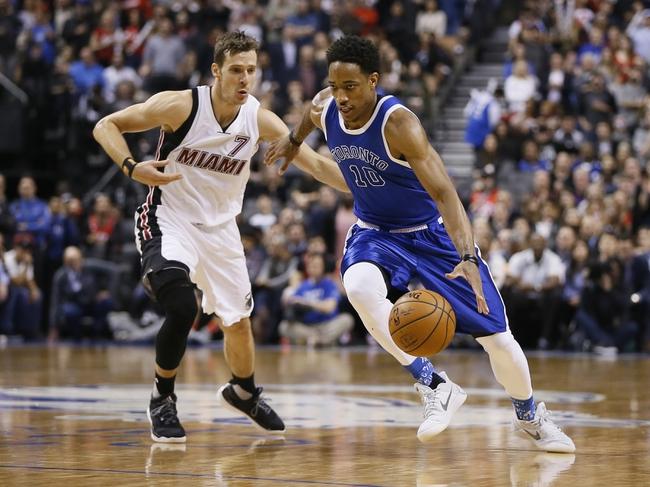 Toronto Raptors vs. Miami Heat - 1/9/18 NBA Pick, Odds, and Prediction